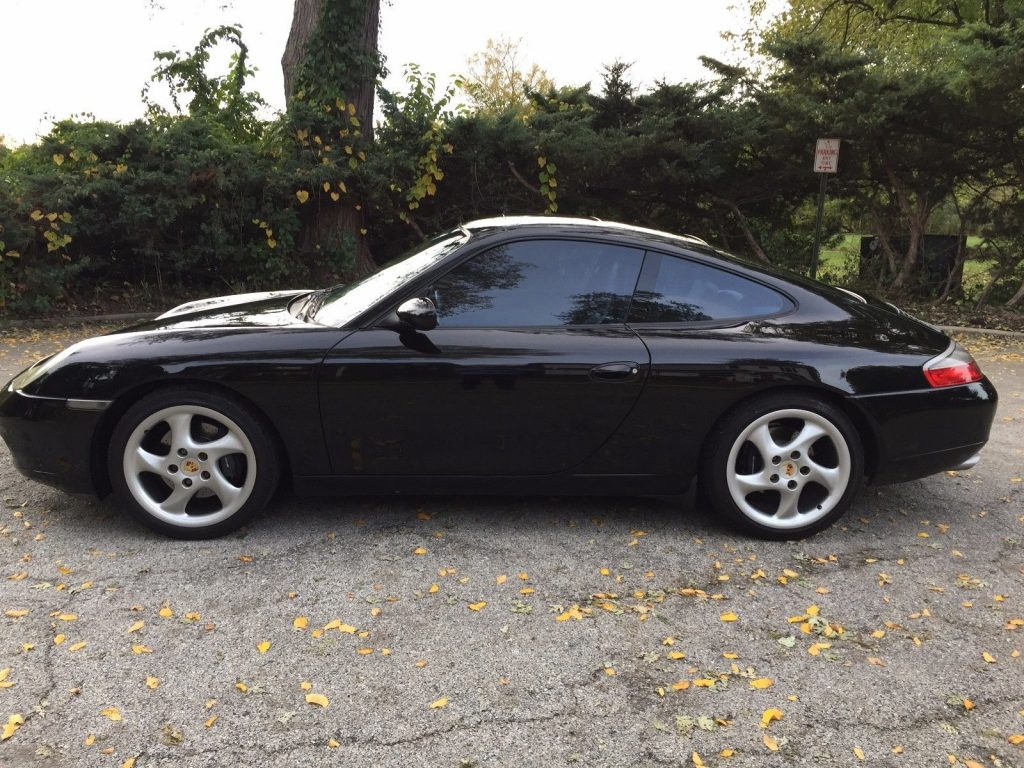 2000 Porsche 911 996 Black On Black California Car For Sale