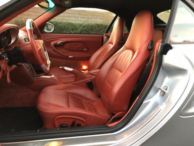 2004 Porsche 911 996 X50 Turbo Cabriolet