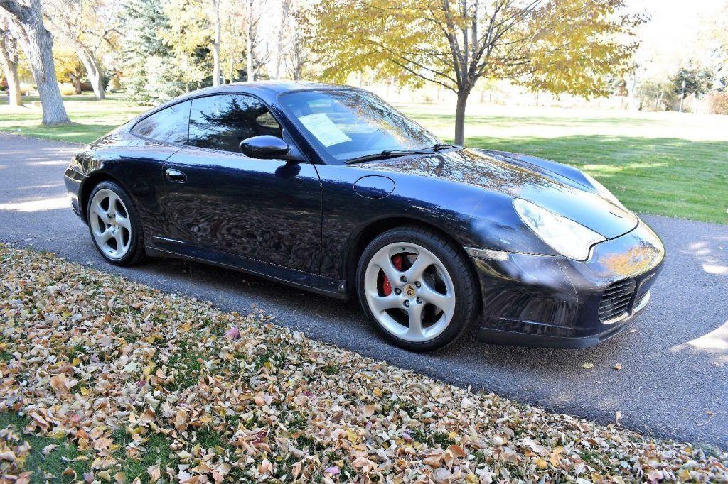 2004 Porsche 911 Carrera 4S Coupe