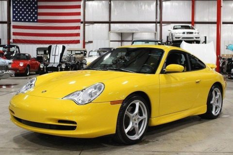 Speed Yellow 2002 Porsche 911 Carrera for sale