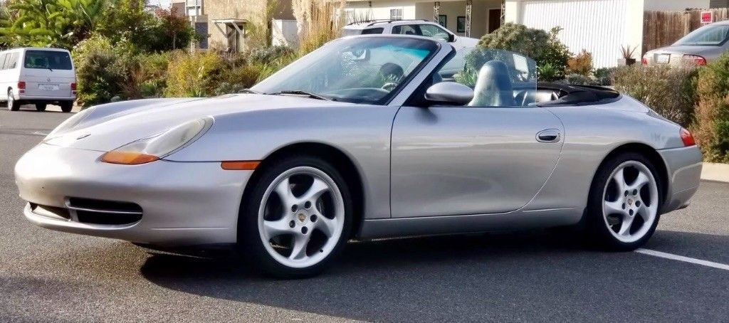 1999 Porsche 911 Cabriolet – drives extremely well