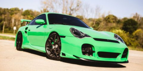 GREAT 2002 Porsche 911 Turbo CUSTOM for sale