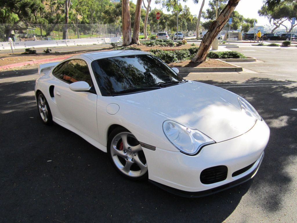 2001 Porsche 911 Turbo Sunroof