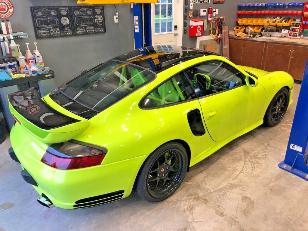 2002 Porsche 911 Turbo Acid Green
