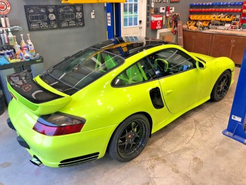 2002 Porsche 911 Turbo Acid Green for sale